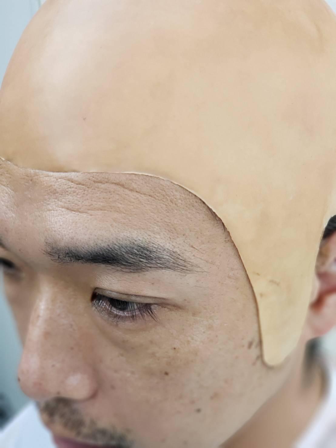 各種イベント・コントバラエティ用です。 皮膚との境目は特殊メイクのような仕様にはなりません。 数多くのバリエーションをご用意しています。