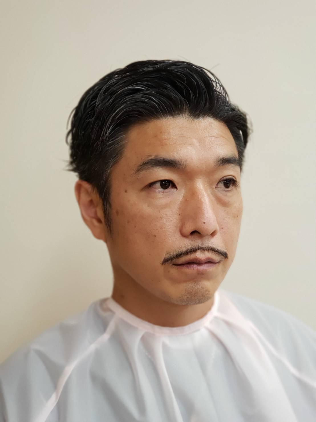コールマン(細)ひげ