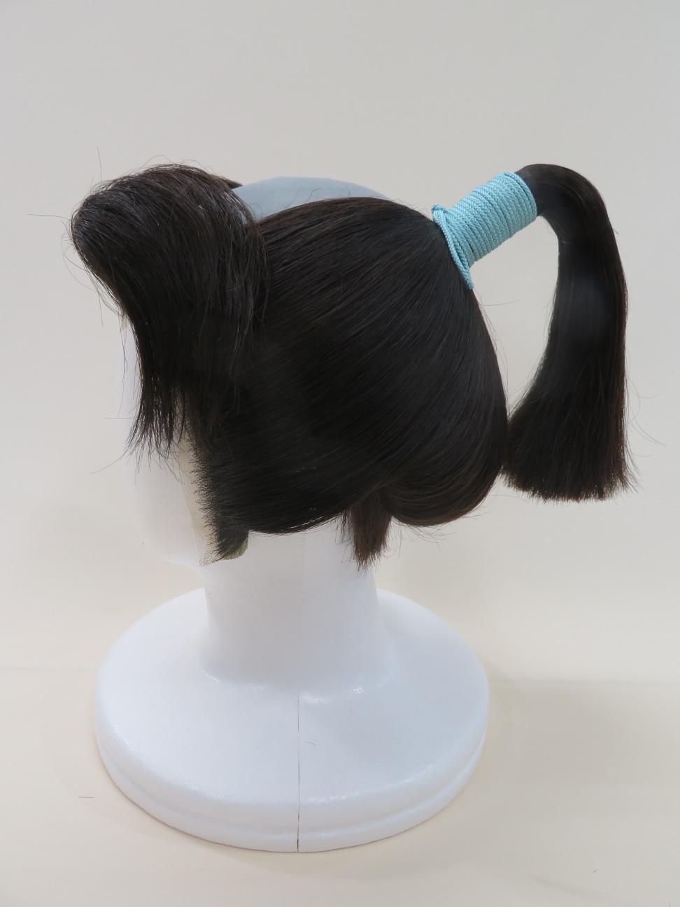 16.前髪(振り分け茶筅)2